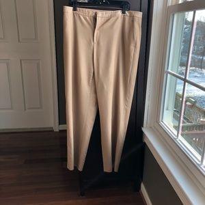 Ellen Tracy Wool Tan Dress Pants